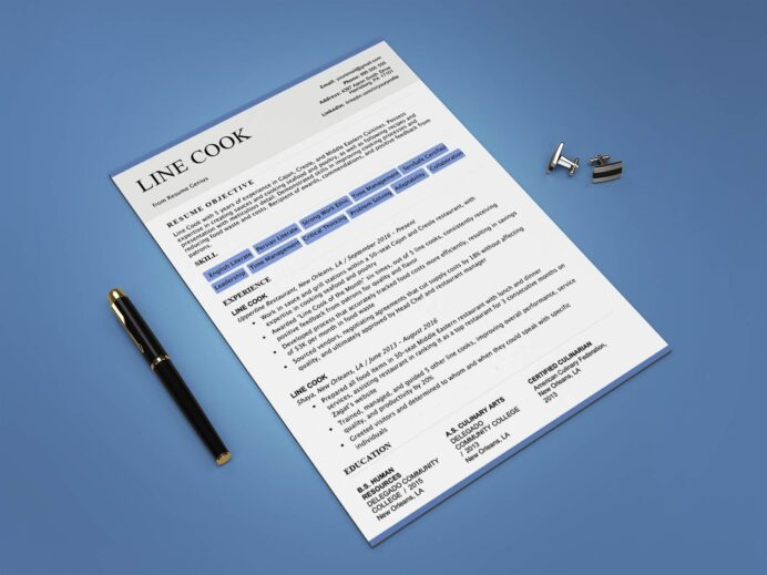 free line resume template with sample text templates rehab technician community volunteer Resume Free Line Cook Resume Templates