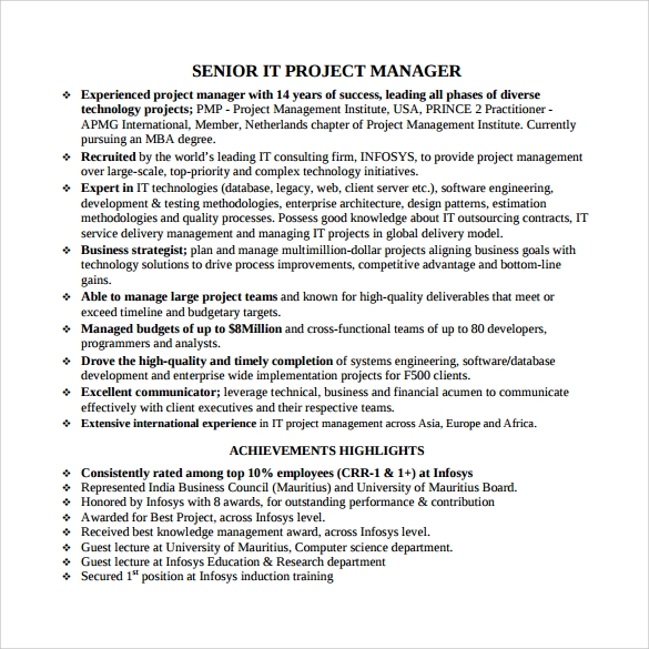 free project manager resume templates in samples pdf program management bullets data Resume Program Management Resume Bullets