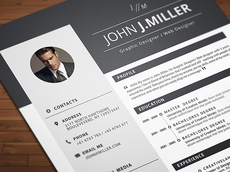 free resume cv template for ms word format good layout in hire writer linkedin Resume Resume Layout Free Download