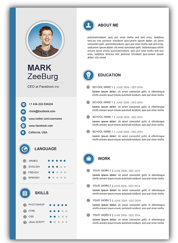 free resume cv templates for microsoft word ceo template mark purchasing manager business Resume Ceo Resume Template Word Free