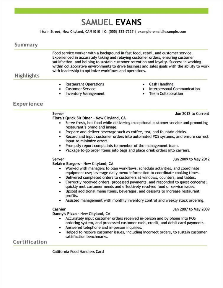 free resume examples by industry job title livecareer good templates special education Resume Livecareer Free Resume Templates