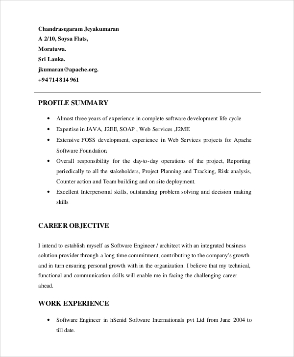 free resume profile samples in pdf ms word summary for example impressive with cover Resume Profile Summary For Resume