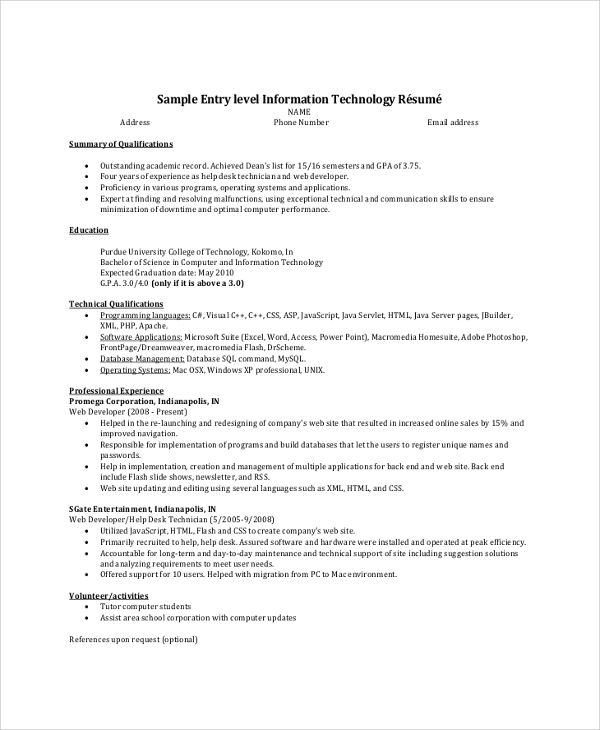 free resume summary samples in pdf ms word statement examples entry level example storage Resume Resume Summary Statement Examples Entry Level