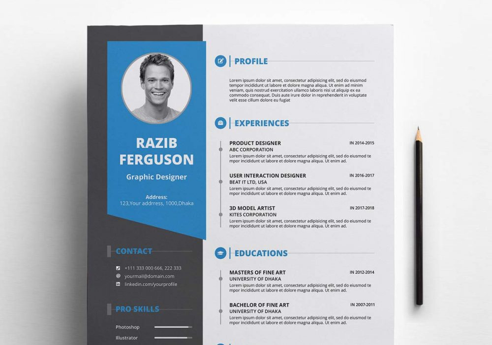free resume template with cover letter maxresumes 1000x700 for different field Resume Free Resume Template Download 2020