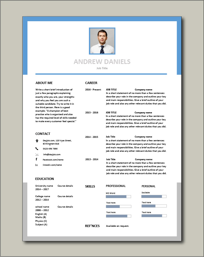 free resume templates examples samples cv format builder job application skills Resume Free Functional Resume Template 2019
