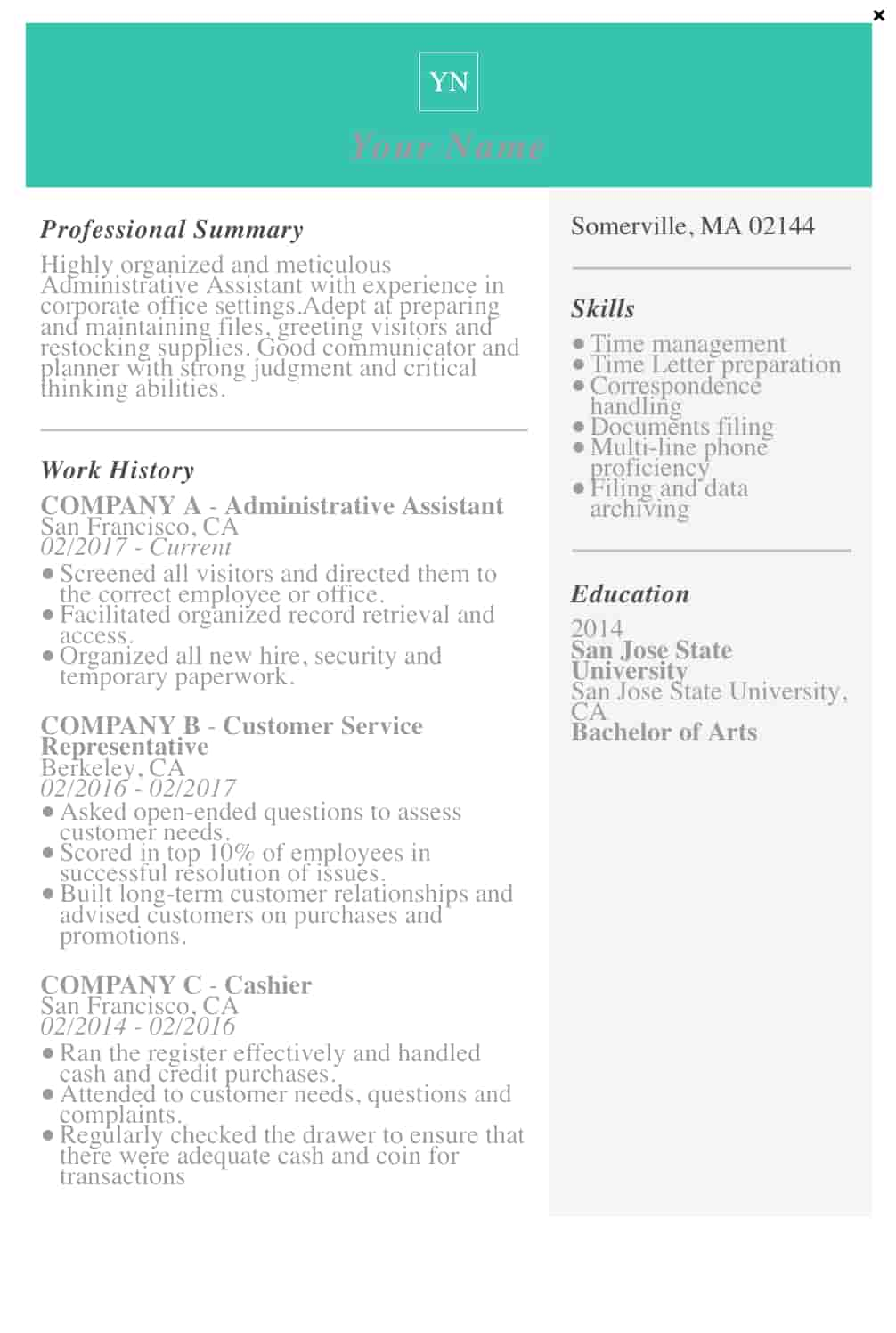free resume templates for microsoft word to make your own livecareer screen shot at pm Resume Livecareer Free Resume Templates
