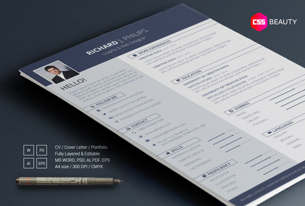 free resume templates professional template with headshot bold one year work experience Resume Free Resume Template With Headshot