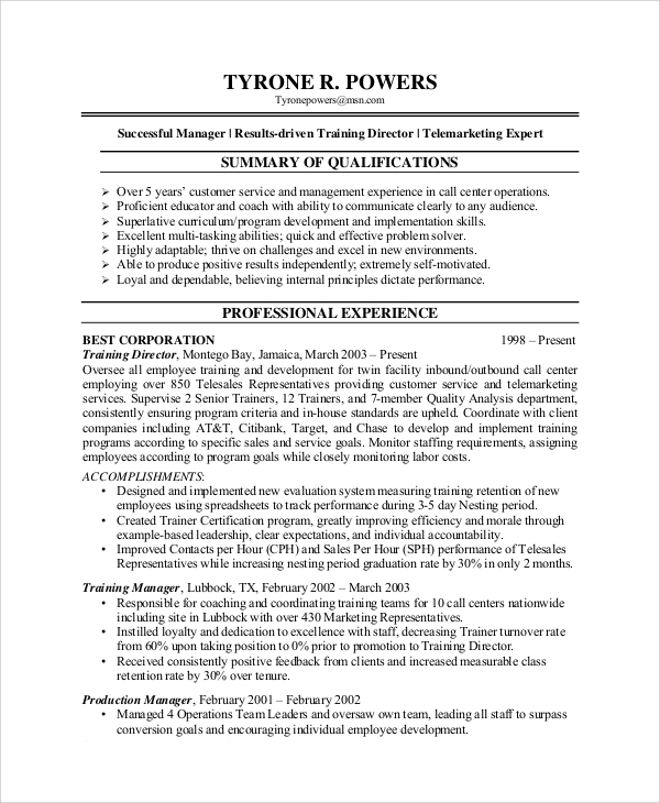 free sample customer service representative resume templates in pdf ms word for senior Resume Resume For Customer Representative