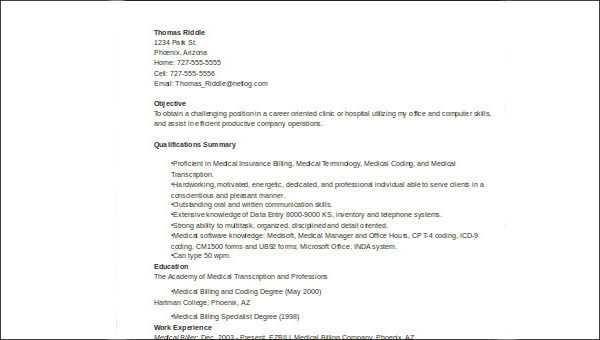 free sample medical customer service resume templates in ms word pdf objective examples Resume Objective Examples For Customer Service Resume