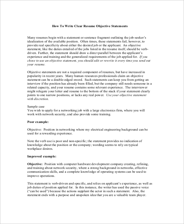free sample objectives in pdf ms word resume objective for mba application writing an Resume Sample Resume Objective For Mba Application