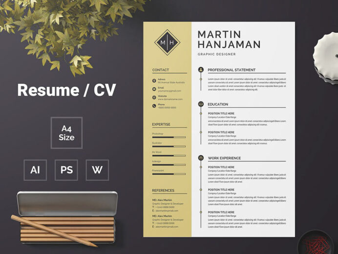 free student cv template with matching cover letter first job resume cashier format entry Resume First Job Resume Template Free