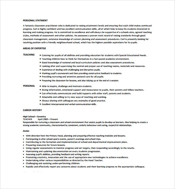 free teacher resume templates in pdf ms word for zoology template collections coordinator Resume Resume For Zoology Teacher