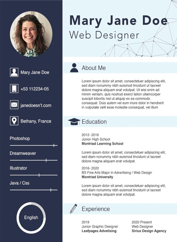 free web designer fresher cv template resume format career change summary example cable Resume Web Designer Resume Format Free Download