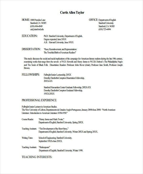 fresher lecturer resume templates free word pdf format teacher template job best for post Resume Resume Format For Lecturer Post