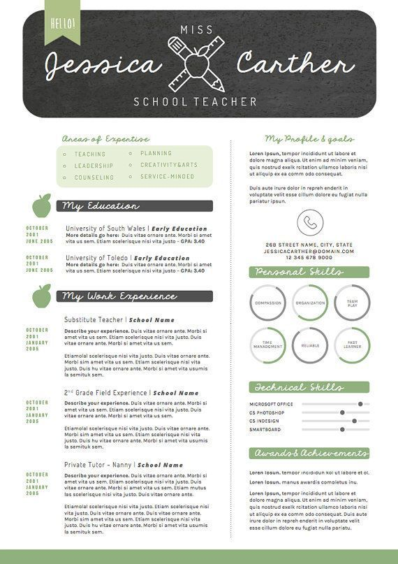 fun creative teacher resume template also includes meet the free templates cosmetology Resume Fun Resume Templates Free