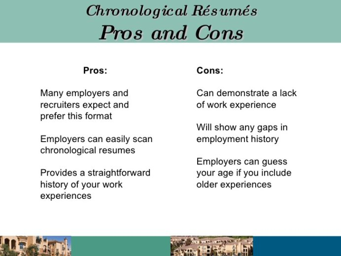 functional resume pros and cons chronological rsum writing presentation procurement Resume Chronological Resume Pros And Cons