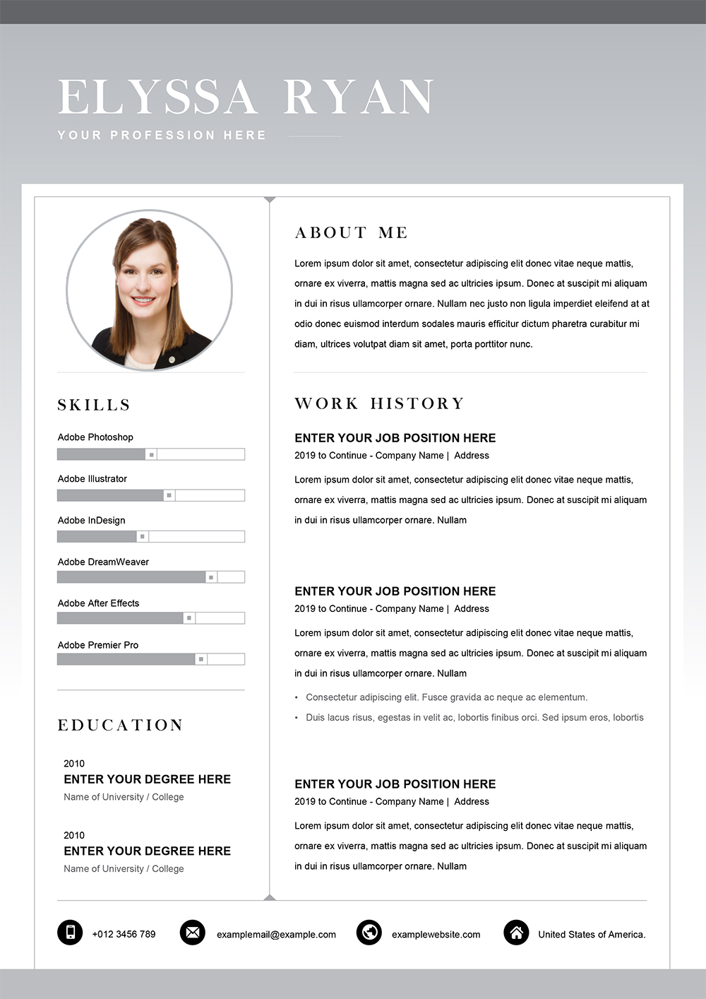 functional resume word template cv templates in to job application objective for Resume Functional Resume Template Word