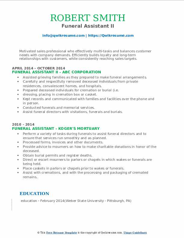 funeral assistant resume samples qwikresume home administrative pdf now cost acceptable Resume Funeral Home Administrative Assistant Resume