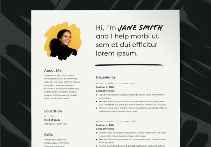 get ahead with these adobe stock resume templates hlx psw qualifications client Resume Adobe Stock Resume Templates