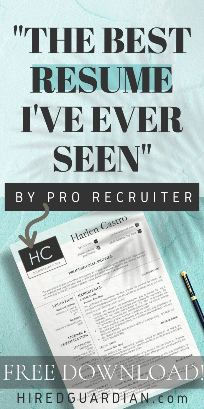 give your resume makeover professional examples minimalist template good the step modern Resume The 24 Step Modern Resume