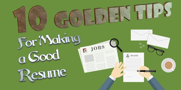 golden tips for making good resume fp executive search recruitment agency great 900x450 Resume Tips For Making A Great Resume