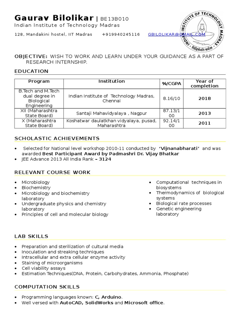 great iit madras resume template addictips for executive position bank financial service Resume Iit Madras Resume Template