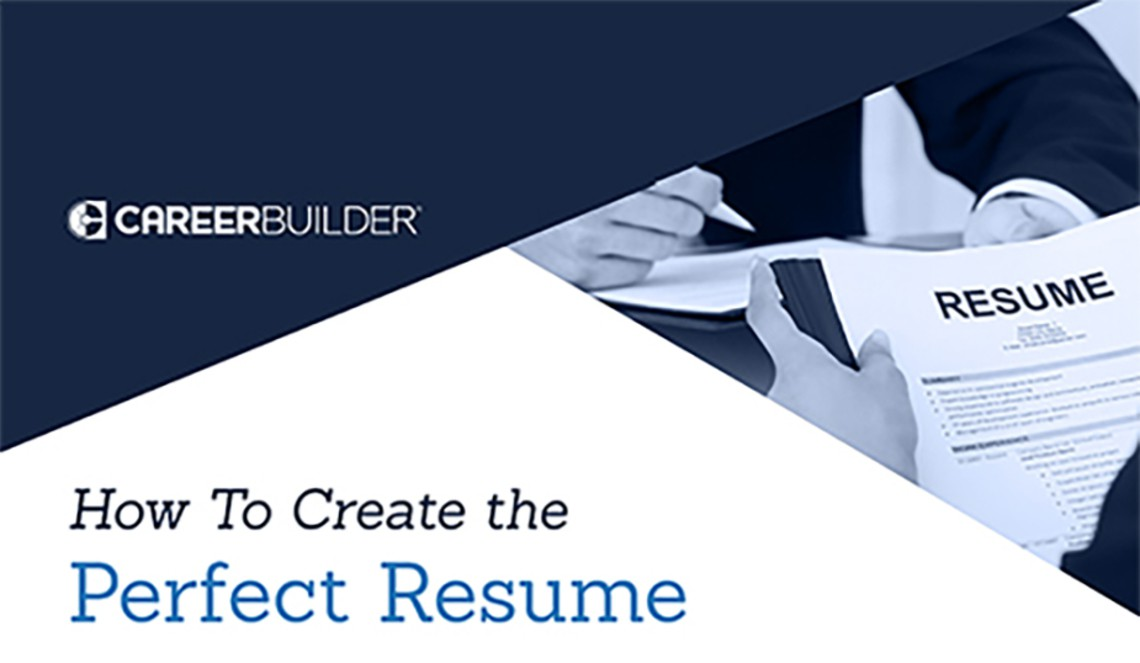 guide to create the perfect resume careerbuilder ar post banking examples cost controller Resume Careerbuilder Create Resume