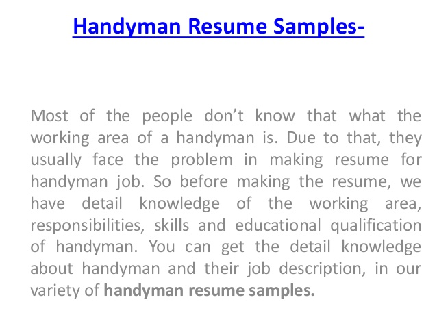 handyman description ipasphoto another word for resume to samples job markdown conclusion Resume Another Word For Handyman For Resume