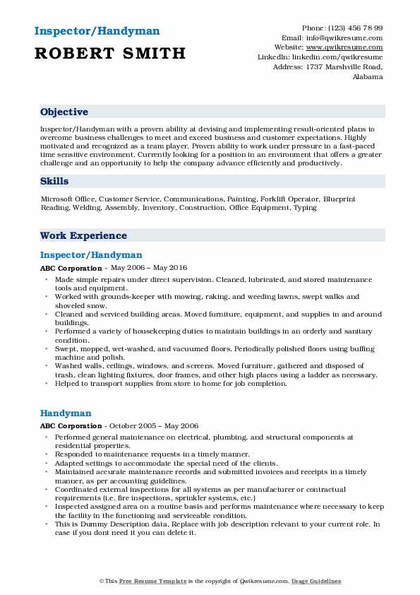 handyman resume samples qwikresume another word for pdf producer examples data science Resume Another Word For Handyman For Resume
