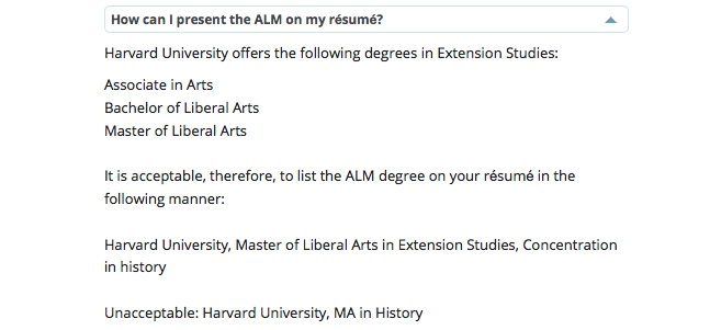 harvard extension school résumé guidelines are bogus ipso facto listing degrees on Resume Listing Degrees On Resume