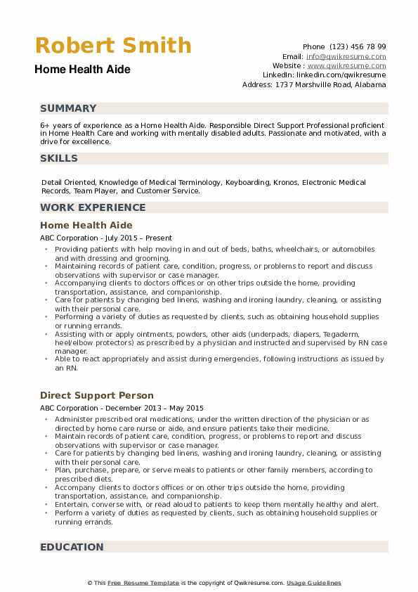home health aide resume samples qwikresume pdf software development manager examples apa Resume Home Health Aide Resume
