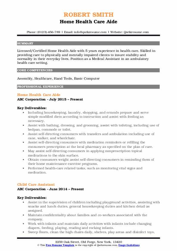 home health care aide resume samples qwikresume pdf for factory job piping supervisor Resume Home Health Aide Resume
