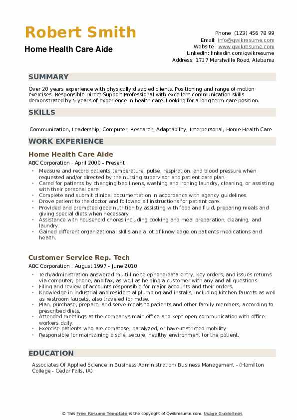 home health care aide resume samples qwikresume pdf hobbies for engineers piping Resume Home Health Aide Resume