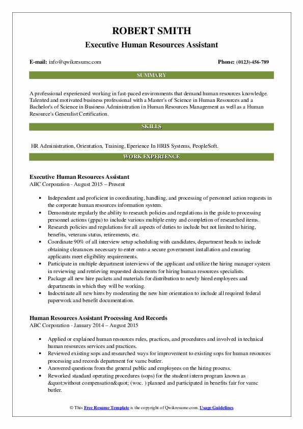 human resources assistant resume samples qwikresume skills pdf simple but effective Resume Human Resources Resume Skills