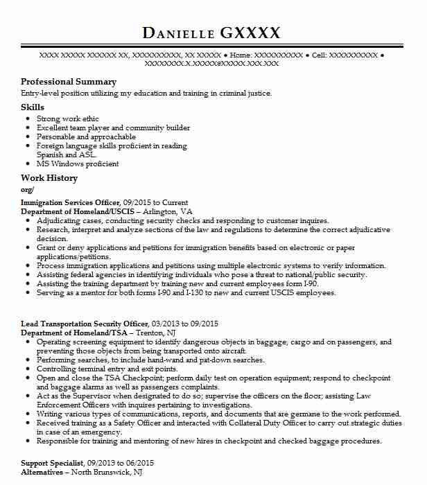 immigration services officer resume example livecareer assistant sample barista job Resume Immigration Services Assistant Sample Resume