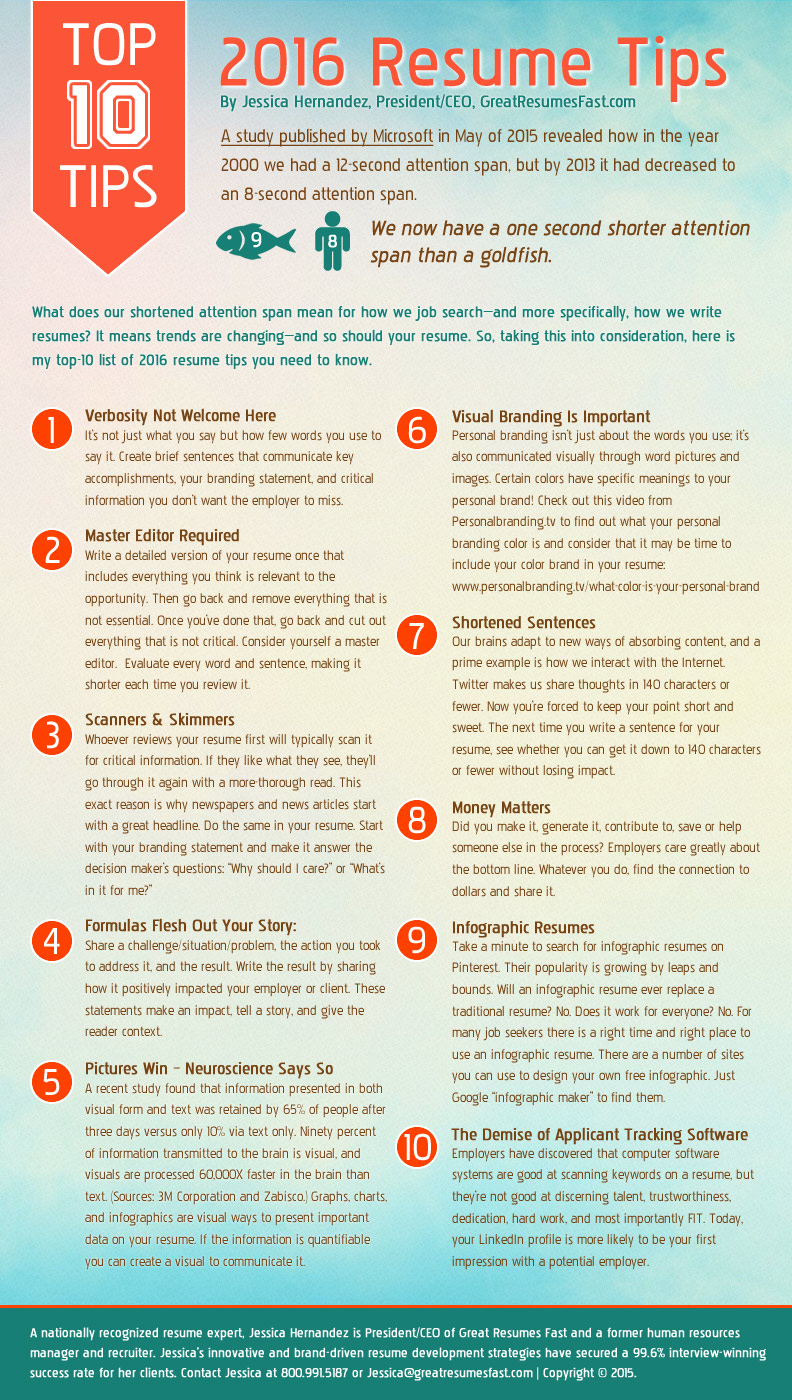 infographic resume tips for making great infographics free bartender templates sample Resume Tips For Making A Great Resume