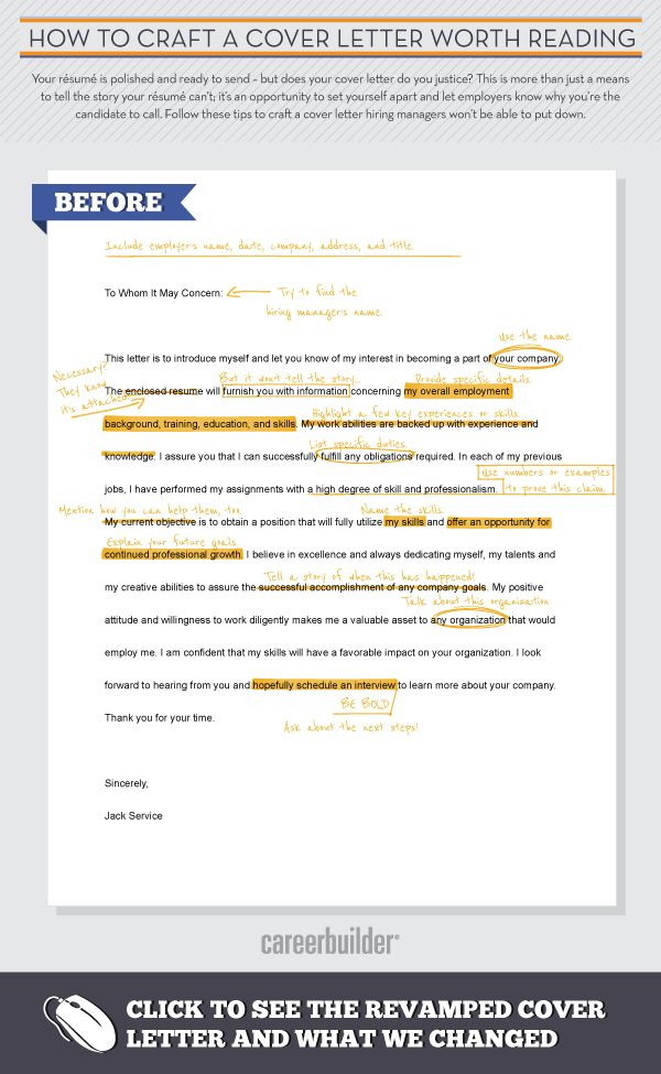 infographic to craft cover letter reading for resume job tips careerbuilder create Resume Careerbuilder Create Resume