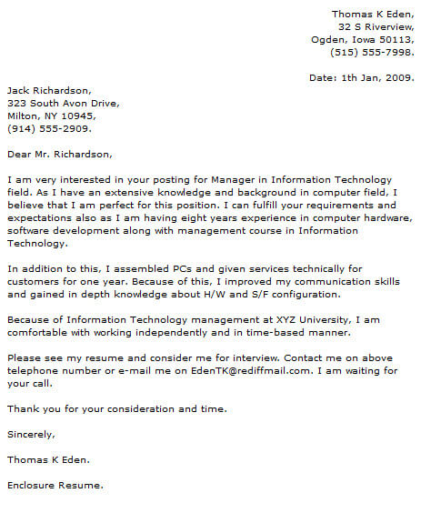 information technology cover letter examples resume now best for any job credit Resume Information Technology Resume Cover Letter