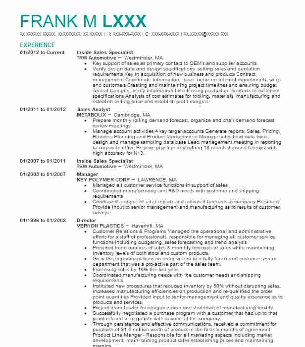 inside product specialist resume example leviton quotation house cleaning elegant design Resume Quotation Specialist Resume
