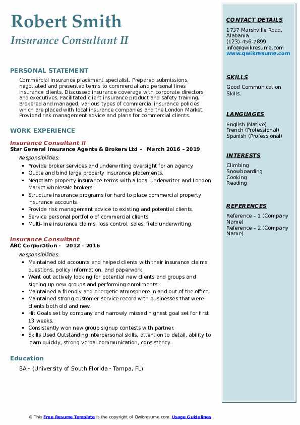 insurance consultant resume samples qwikresume pdf resident assistant example mba sample Resume Insurance Consultant Resume