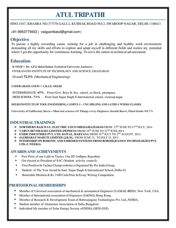 is the best resume for mechanical engineer fresher quora good engineering sample cover Resume Good Mechanical Engineering Resume