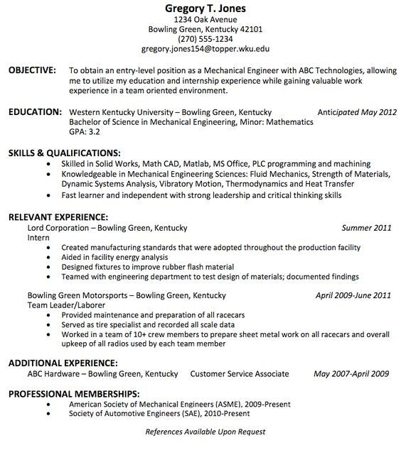 is the best resume title for mechanical engineer fresher quora engineering templates free Resume Objective For Resume For Fresher Mechanical Engineer