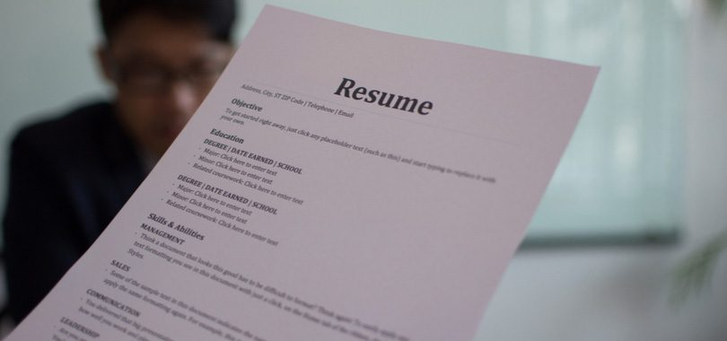is the difference between resume and curriculum vitae cv 810x380 special skills for Resume Difference Between Resume And Curriculum Vitae