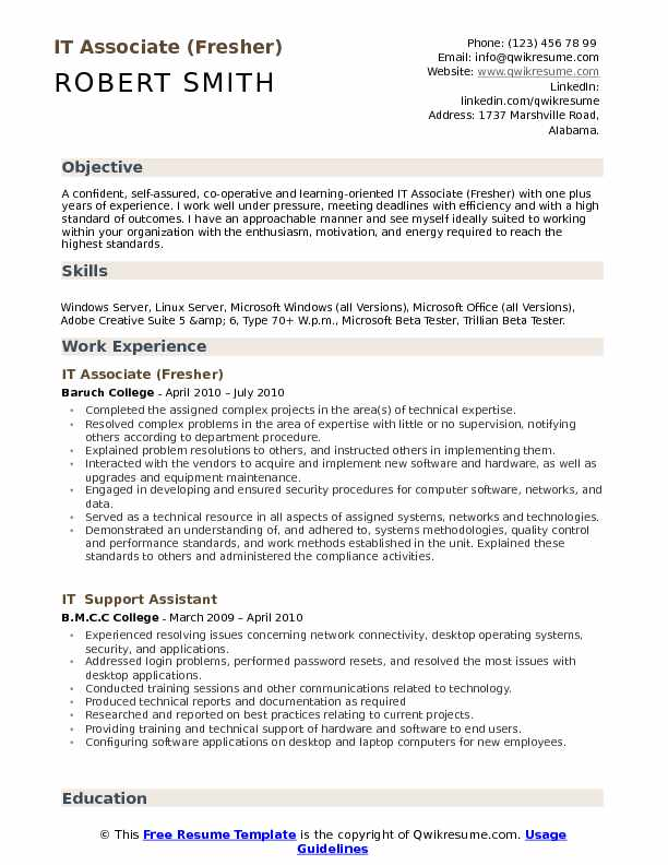 it associate resume samples qwikresume headline freshers examples pdf policy analyst Resume Headline Resume Freshers Examples