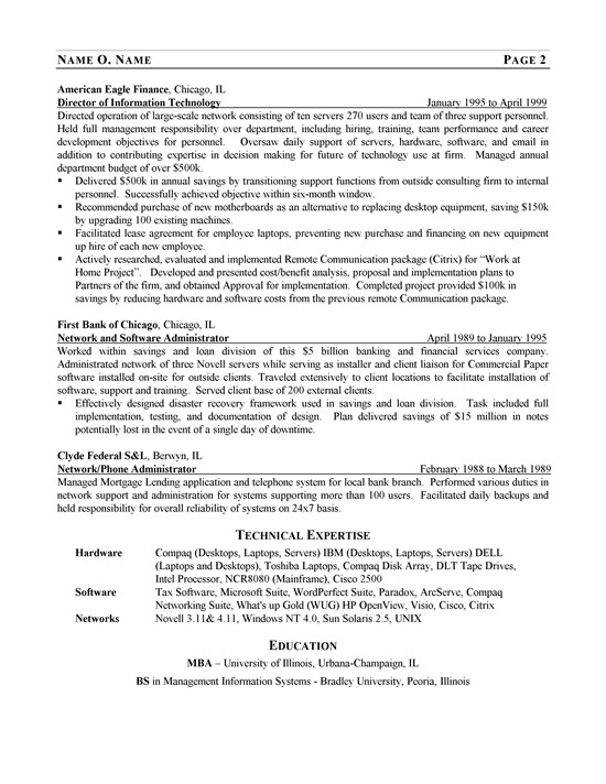 it consultant resume example technology sample ex network manager1b for school secretary Resume Technology Consultant Resume Sample