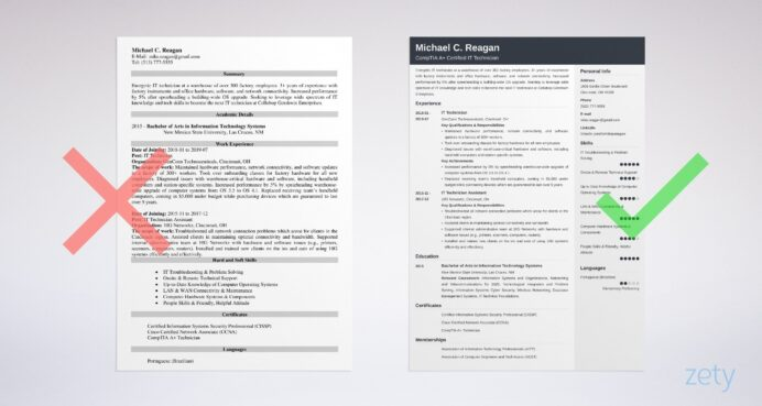 it technician resume example guide tips summary for car salesman address on or not Resume Technician Summary For Resume