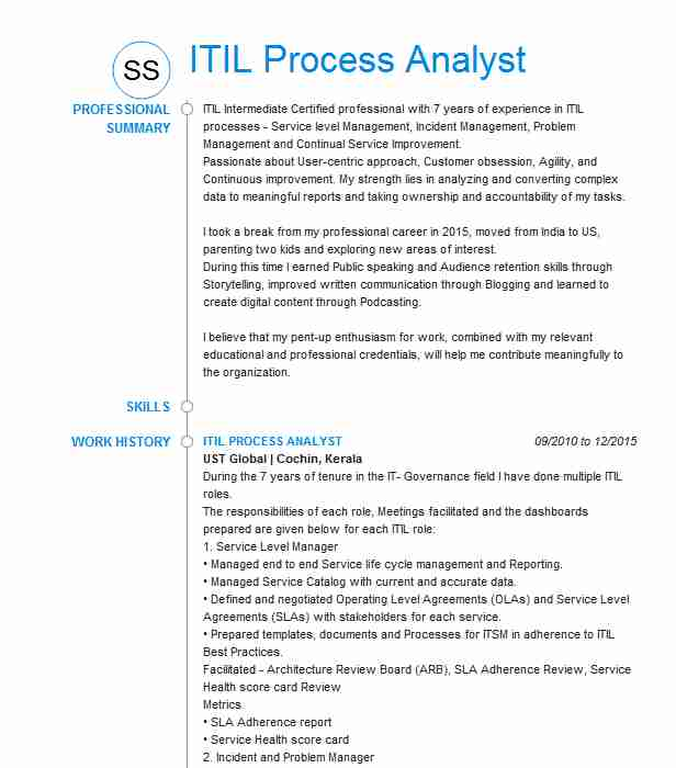 itil process manager resume example kforce staffing devon energy andover certified format Resume Itil Certified Resume Format