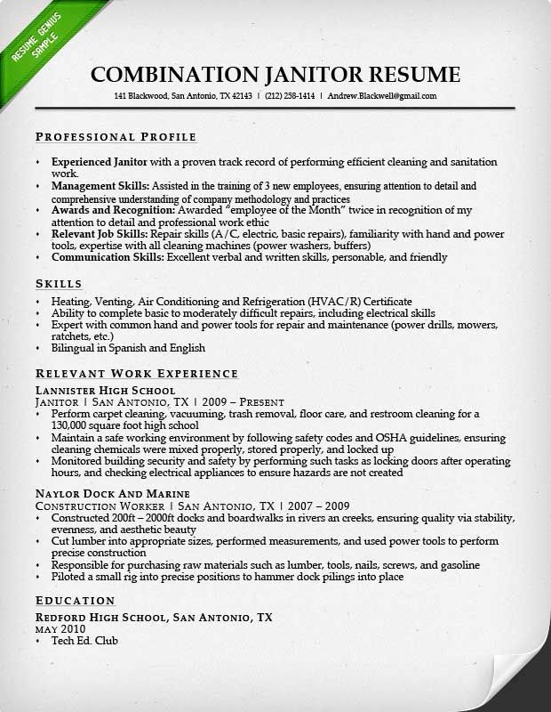 janitor job description resume objective for janitorial position technical writer sample Resume Resume Objective For Janitorial Position