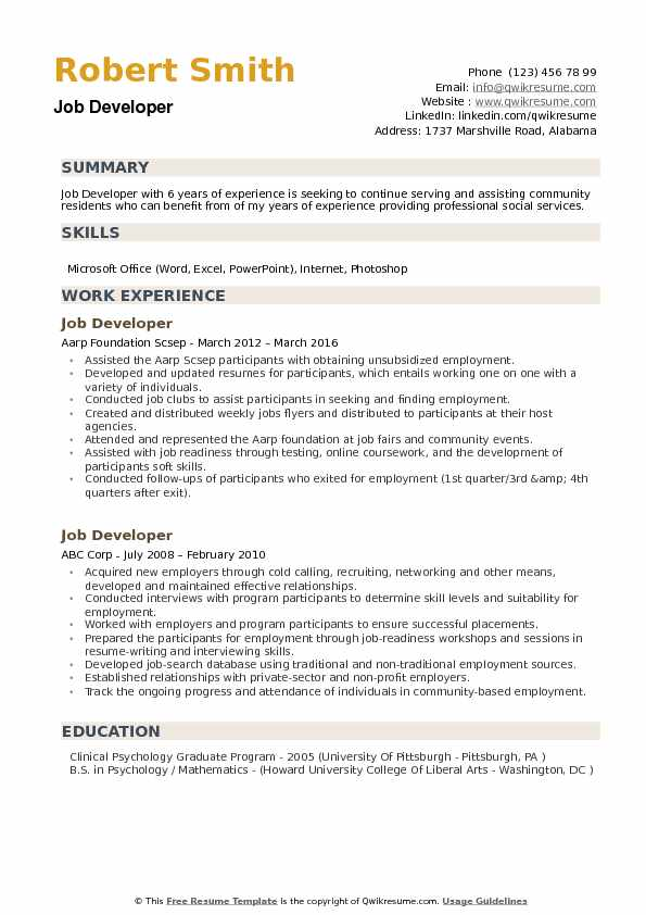 job developer resume samples qwikresume application seeker sample pdf director level asst Resume Job Application Job Seeker Resume Sample