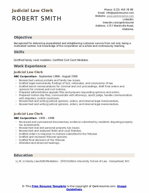 judicial law clerk resume samples qwikresume sample pdf substitute teacher mailman cerner Resume Judicial Law Clerk Resume Sample